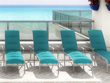Tropitone Sorrento Padded Sling Extruded Aluminum Lounge Set