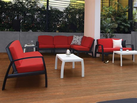 Tropitone South Beach Cushion Aluminum Lounge Set