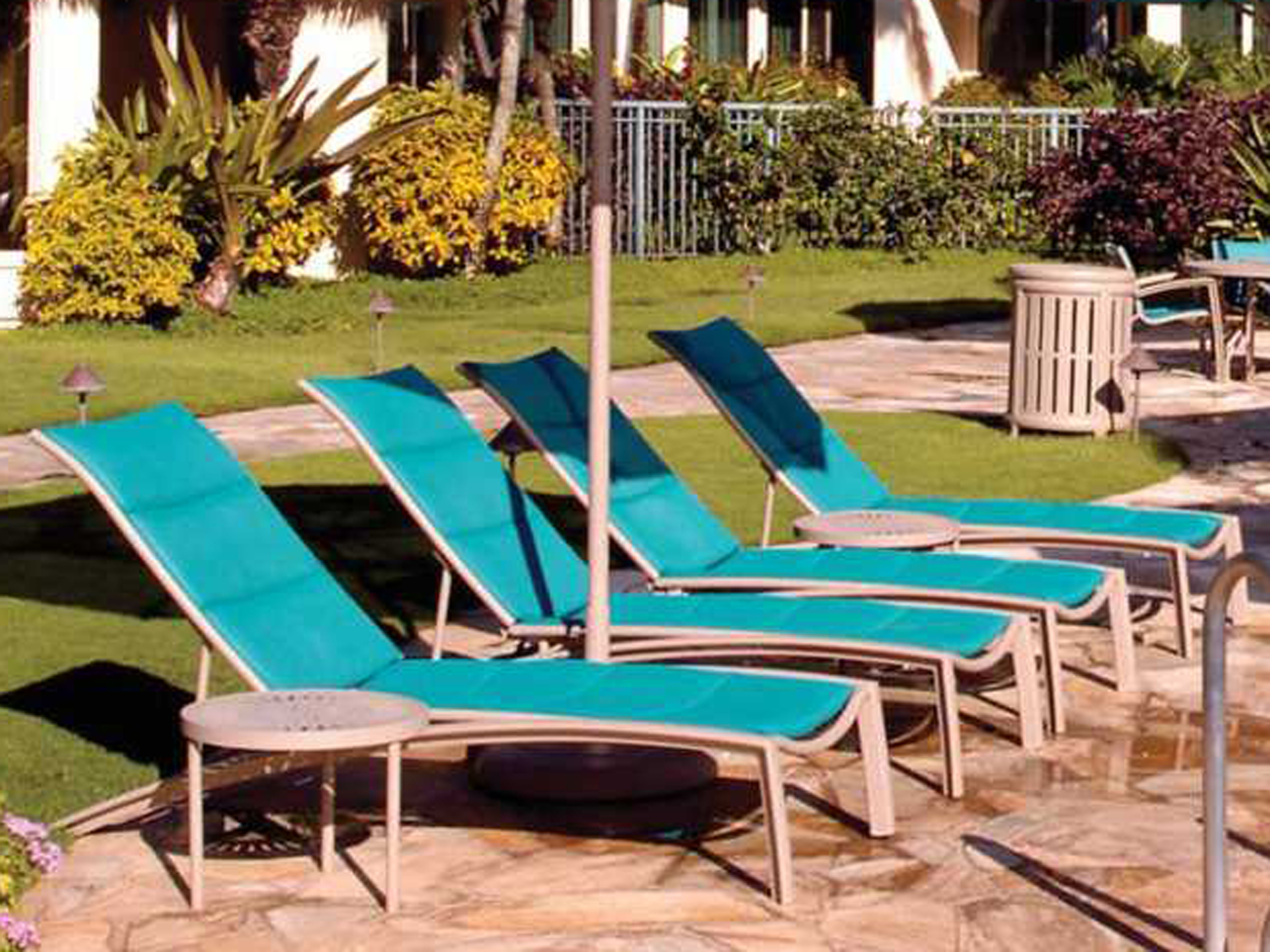 Tropitone South Beach Padded Sling Chaise Lounges 240532ps