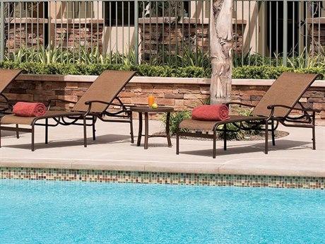 Tropitone Sorrento Relaxed Sling Aluminum Lounge Set