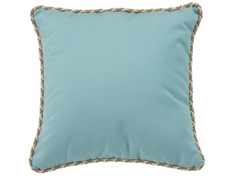 Tropitone 20''Wide Square Throw Pillow with Cord Welt PatioLiving