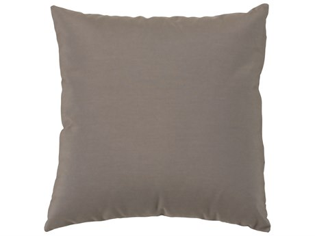 Tropitone 24''Wide Square Throw Pillow with Cord Welt PatioLiving