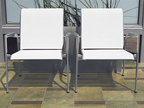 Tropitone Veer Sling Cast Aluminum Lounge Set