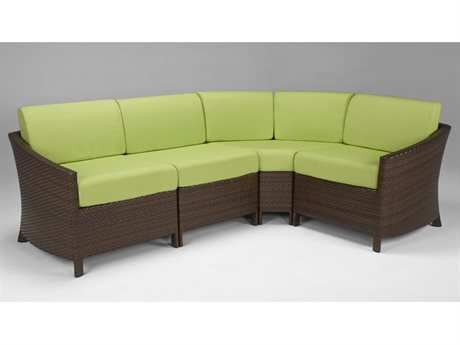 Tropitone Vela Woven Sectional Set