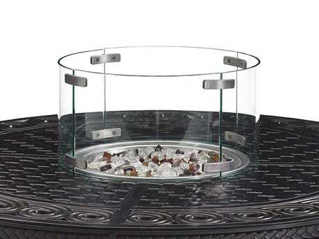 Tommy Bahama Outdoor Alfresco Living Tempered Round Glass Flame Guard TR310091FPS