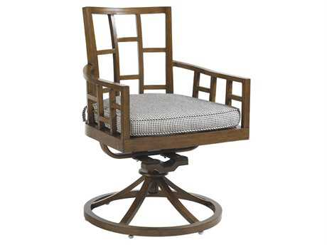 Tommy Bahama Outdoor Ocean Club Resort Aluminum Swivel Rocker Dining Chair