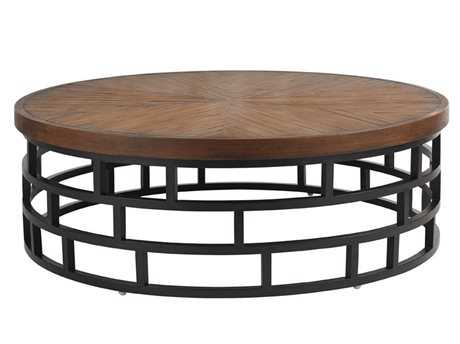 Tommy Bahama Outdoor Ocean Club Resort Aluminum 54'' Round Cocktail Table