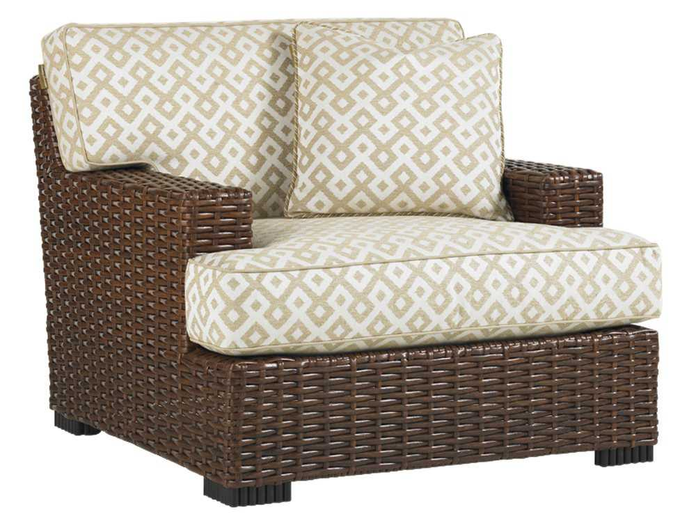 Tommy Bahama Outdoor Ocean Club Pacifica Wicker Lounge