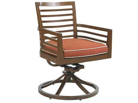 Tommy Bahama Outdoor Ocean Club Pacifica Aluminum Swivel Rocker Dining Chair