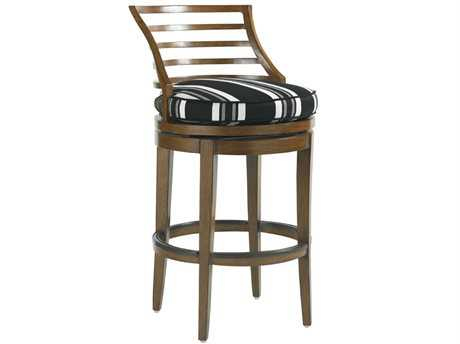 Tommy Bahama Outdoor Ocean Club Pacifica Aluminum Swivel Bar Stool