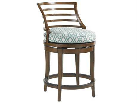 Tommy Bahama Outdoor Ocean Club Pacifica Aluminum Swivel Counter Stool
