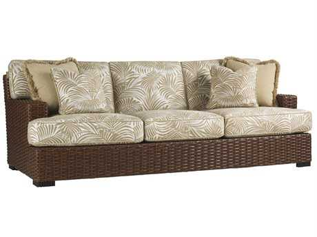 Tommy Bahama Outdoor Ocean Club Pacifica Wicker Sofa