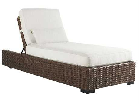 Tommy Bahama Outdoor Ocean Club Pacifica Wicker Chaise Lounge