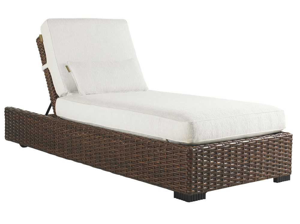 Tommy Bahama Outdoor Ocean Club Pacifica Wicker Chaise