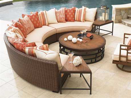 Tommy Bahama Outdoor Ocean Club Pacifica Wicker Lounge Set