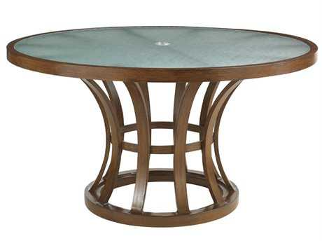 Tommy Bahama Outdoor Ocean Club Pacifica Aluminum 54'' Round Dining Table