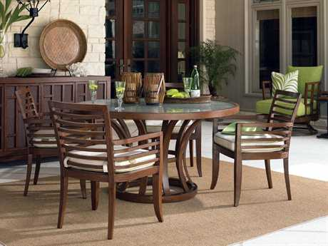 Tommy Bahama Outdoor Ocean Club Pacifica Aluminum Dining Set