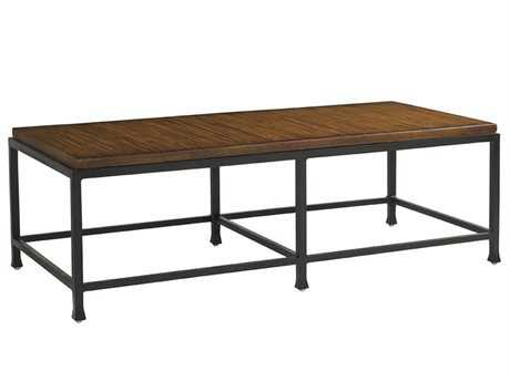 Tommy Bahama Outdoor Ocean Club Pacifica Aluminum 56.5'' x 26.5'' Rectangular Cocktail Table