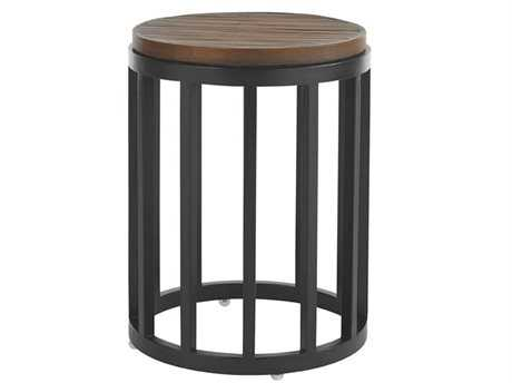 Tommy Bahama Outdoor Ocean Club Pacifica Aluminum 17'' Round Accent Table