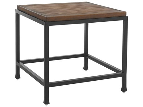 Tommy Bahama Outdoor Ocean Club Pacifica Aluminum 24.5'' Square End Table PatioLiving