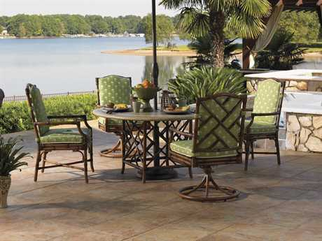 Tommy Bahama Outdoor Island Estate Veranda Aluminum Dining Set