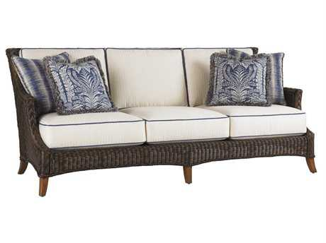 Tommy Bahama Outdoor Island Estate Lanai Wicker Sofa PatioLiving
