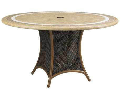 Tommy Bahama Outdoor Island Estate Lanai Wicker Dining Table