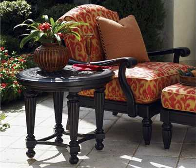 Tommy Bahama Outdoor Kingstown Sedona Cast Aluminum Lounge Set PatioLiving