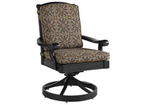 Tommy Bahama Outdoor Kingstown Sedona Cast Aluminum Swivel Rocker Dining Chair