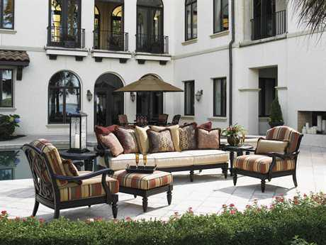 Tommy Bahama Outdoor Kingstown Sedona Cast Aluminum Lounge Set