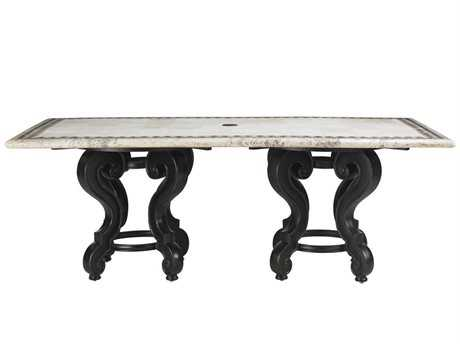 Tommy Bahama Outdoor Kingstown Sedona Cast Aluminum Dining Table Set