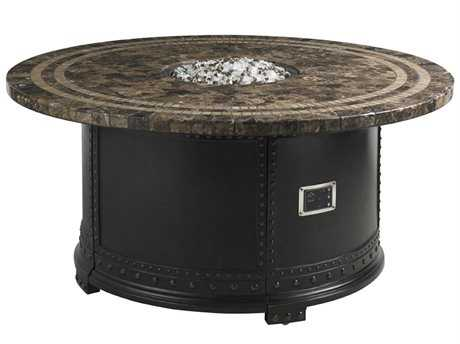 Tommy Bahama Outdoor Kingstown Sedona Cast Aluminum 54'' Round Gas Fire Pit TR3190920FG