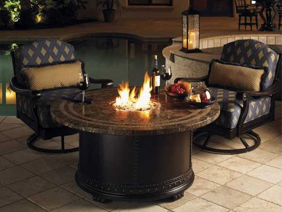 Tommy Bahama Outdoor Kingstown Sedona Cast Aluminum 54