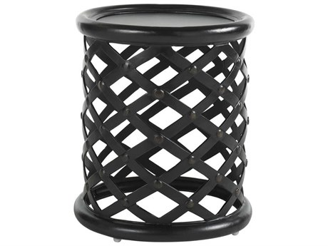 Tommy Bahama Outdoor Kingstown Sedona Cast Aluminum 20'' Round Accent Table TR3190952