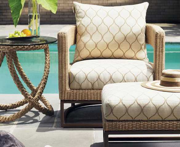Tommy Bahama Outdoor Aviano Wicker Lounge Chair 3220 11