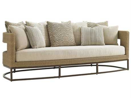 Tommy Bahama Outdoor Aviano Wicker Sofa PatioLiving