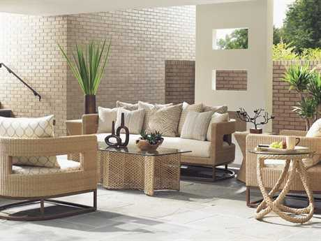 Tommy Bahama Outdoor Aviano Wicker Lounge Set