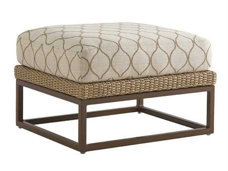 Tommy Bahama Outdoor Aviano Wicker Ottoman