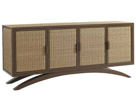 Tommy Bahama Outdoor Aviano Wicker 70'' x 18'' Rectangular Buffet