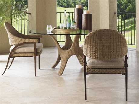 Tommy Bahama Outdoor Aviano Wicker Dining Set