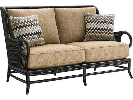 Tommy Bahama Outdoor Marimba Wicker Loveseat