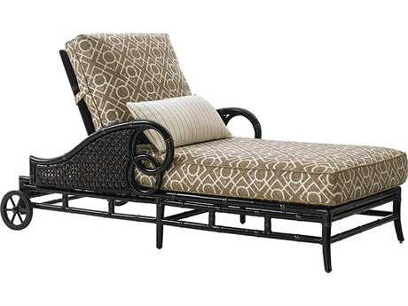 Tommy Bahama Outdoor Marimba Wicker Chaise Lounge