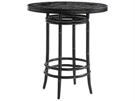 Tommy Bahama Outdoor Marimba 38 Round High/Low Bistro Bar Table