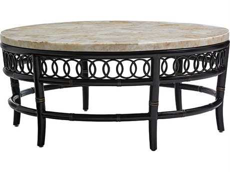 Tommy Bahama Outdoor Marimba 41.5'' Round Cocktail Table TR3237943TBSET