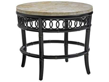 Tommy Bahama Outdoor Marimba 28'' Round End Table TR3237953TBSET