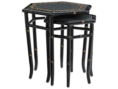 Tommy Bahama Outdoor Hexagon Marimba Nesting Tables