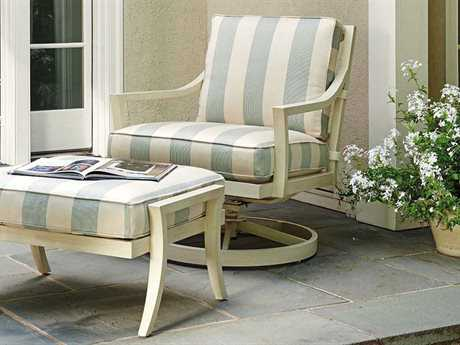 Tommy Bahama Outdoor Misty Garden Cast Aluminum Swivel Rocker Lounge Set