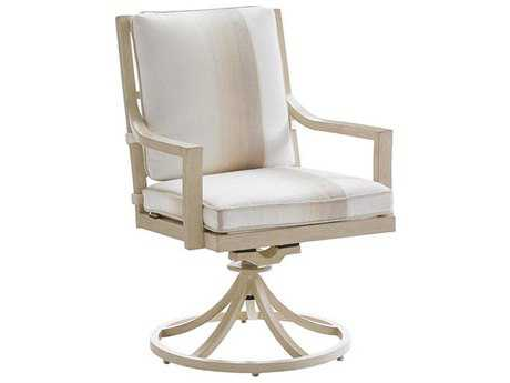 Tommy Bahama Outdoor Misty Garden Cast Aluminum Swivel Rocker Dining Chair
