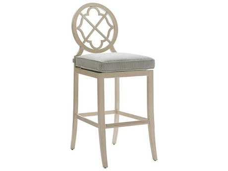 Tommy Bahama Outdoor Misty Garden Cast Aluminum Bar Stool