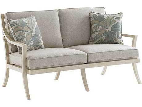 Tommy Bahama Outdoor Misty Garden Cast Aluminum Loveseat PatioLiving